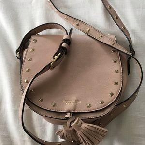 Victoria's Secret Bags - Blush color Victoria's Secret Stud Crossbody bag🎀